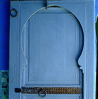 The shape, decoration and ancient ironwork of this door and frame are all distinctly North African