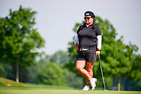 Christina Kim (USA) looks over her putt on 15 during Thursday's first round of the 72nd U.S. Women's Open Championship, at Trump National Golf Club, Bedminster, New Jersey. 7/13/2017.<br /> Picture: Golffile | Ken Murray<br /> <br /> <br /> All photo usage must carry mandatory copyright credit (&copy; Golffile | Ken Murray)