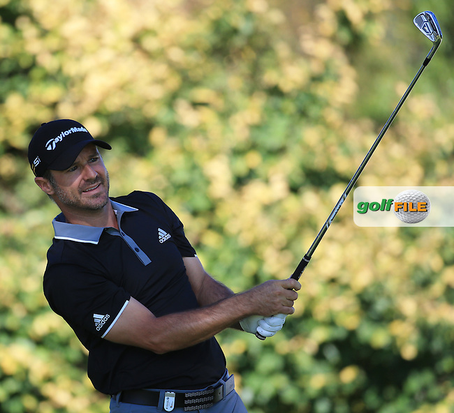 Trevor Immelman (RSA) in action during the completion of Round Two of the 2016 BMW SA Open hosted by City of Ekurhuleni, played at the Glendower Golf Club, Gauteng, Johannesburg, South Africa.  09/01/2016. Picture: Golffile | David Lloyd<br /> <br /> All photos usage must carry mandatory copyright credit (&copy; Golffile | David Lloyd)