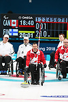 Pyeongchang, Korea, 15/3/2018-Mark Ideson compete in the  wheelchair curling during the 2018 Paralympic Games in PyeongChang.  Photo Scott Grant/Canadian Paralympic Committee.
