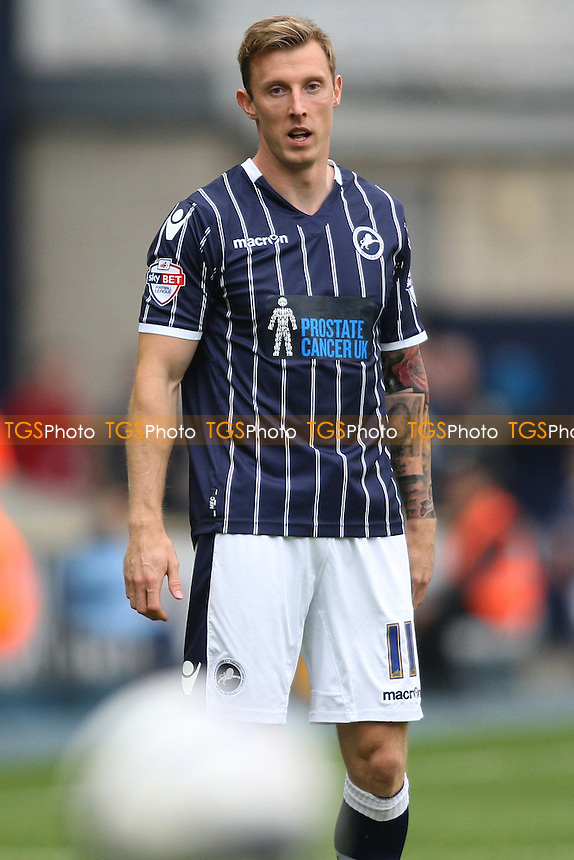 Martyn Woolford of Millwall - Millwall vs Leeds United - Sky Bet Championship Football at the New Den, South Bermondsey, London - 28/09/13 - MANDATORY CREDIT: George Phillipou/TGSPHOTO - Self billing applies where appropriate - 0845 094 6026 - contact@tgsphoto.co.uk - NO UNPAID USE