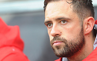 Southampton's Danny Ings<br /> <br /> Photographer Kevin Barnes/CameraSport<br /> <br /> The Premier League - Southampton v Burnley - Sunday August 12th 2018 - St Mary's Stadium - Southampton<br /> <br /> World Copyright &copy; 2018 CameraSport. All rights reserved. 43 Linden Ave. Countesthorpe. Leicester. England. LE8 5PG - Tel: +44 (0) 116 277 4147 - admin@camerasport.com - www.camerasport.com