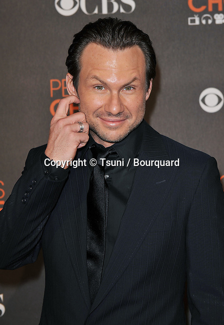 Christian Slater _021  -<br /> People&rsquo;s Choice Awards 2010 at the Nokia Theatre In Los Angeles.