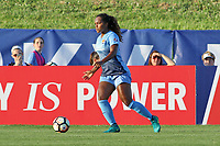 Piscataway, NJ - Saturday July 15, 2017: Game action during a regular season National Women's Soccer League (NWSL) match between Sky Blue FC and the Chicago Red Stars at Yurcak Field. Final score: 2-2.