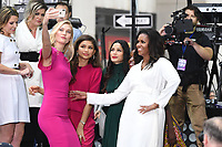 NEW YORK, NY - OCTOBER 11:  Karlie Kloss, Zendaya, Freida Pinto and Michelle Obama on NBC's Today promoting and celebrating International Day of the Girl in New York City on October 11, 2018. Credit: John Palmer/MediaPunch