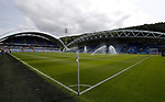 General view of the stadium during the premier league match at the John Smith's Stadium, Huddersfield. Picture date 20th August 2017. Picture credit should read: Simon Bellis/Sportimage