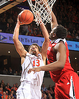 Virginia forward Anthony Gill (13) during the game Jan. 7, 2015, in Charlottesville, Va. Virginia defeated NC State  61-51.