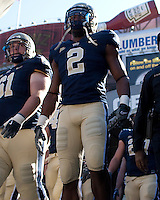 Pittsburgh tight end Dorin Dickerson. The Pittsburgh Panthers defeated the Syracuse Orange 37-10 at Heinz Field, Pittsburgh Pennsylvania on November 7, 2009..
