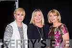 Jean crowley, Kate Donnellan and Desiree Crowley at the St Pauls basketball club fashion show in the Killarney Racecourse on Friday night