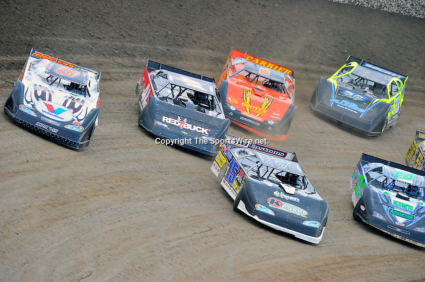 Jun 12, 2010; 7:58:21 PM; Rossburg, OH., USA; The running of the Dream XVI  Dirt Late Models at the Eldora Speedway paying $100,000 to win.  Mandatory Credit: (thesportswire.net)
