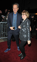 Richard E. Grant and Joan Washington at the Charles Finch &amp; Chanel Pre-BAFTAs Dinner, No. 5 Hertford Street (Loulou's), Hertford Street, London, England, UK, on Saturday 09th February 2019.<br /> CAP/CAN<br /> &copy;CAN/Capital Pictures