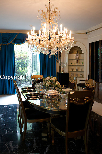 Graceland, home of Elvis Presley : dining room