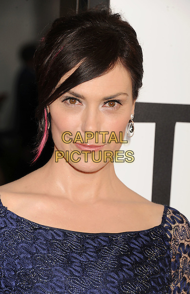 Michelle Forbes.'True Blood' Season 5 Los Angeles Premiere at ArcLight Cinemas Cinerama Dome, Hollywood, California, USA..May 30th, 2012.headshot portrait blue lace pink streak hair .CAP/ROT/TM.© TM/Roth/Capital Pictures