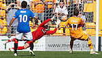 Allan McGregor saves Jim O'Brien's penalty kick