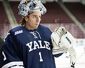 Sam Tucker (Yale - 1) - The Boston University Terriers defeated the visiting Yale University Bulldogs 5-2 on Tuesday, December 13, 2016, at the Agganis Arena in Boston, Massachusetts.