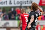 20.07.2019, Heinz Detmar Stadion, Lohne, Interwetten Cup 1. FC Köln vs SV Werder Bremen<br /> <br /> im Bild / picture shows <br /> <br /> Jubel 1:0 Joshua Sargent (Werder Bremen #19) <br /> <br /> Foto © nordphoto / Kokenge