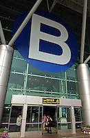 The Kunming Airport, Yunnan province, China..