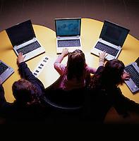 Computer class at the Israeli school (La Escuela Isrealita) for an article for Chilango Magazine on private schools in Mexico City