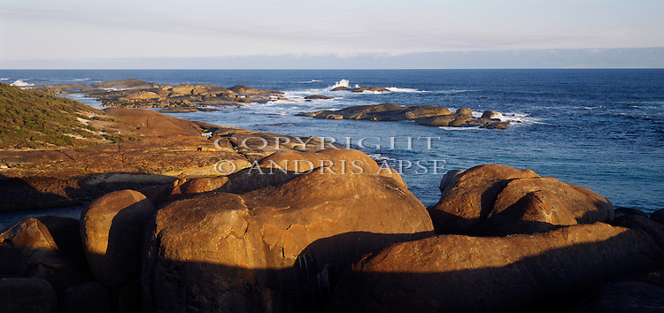 Coastline at William Bay National Park. Western Australia. Australia.