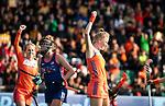 ROTTERDAM - Caia Van Maasakker (Ned) heeft gescoord    tijdens de Pro League hockeywedstrijd dames, Nederland-USA  (7-1) .   COPYRIGHT  KOEN SUYK