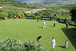 The practice green during Day 1 of the Volvo World Match Play Championship in Finca Cortesin, Casares, Spain, 19th May 2011. (Photo Eoin Clarke/Golffile 2011)