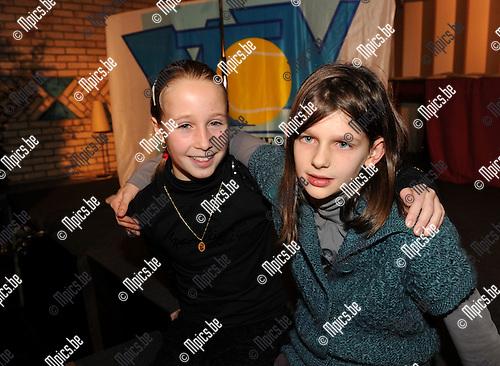 2010-12-10 / Tennis / seizoen 2010 / Axana Mareen (L, meisjes 10) en  Lotte Van den Bulcke (meisjes 9) vielen in de prijzen..Foto: Mpics