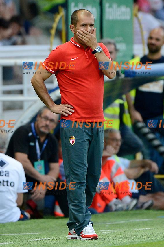 Jardim Leonardo Monaco<br /> Parma 28-07-2014 Stadio Tardini - Football Calcio Amichevole. Pre season training. Parma - Monaco Foto Giuseppe Celeste / Insidefoto