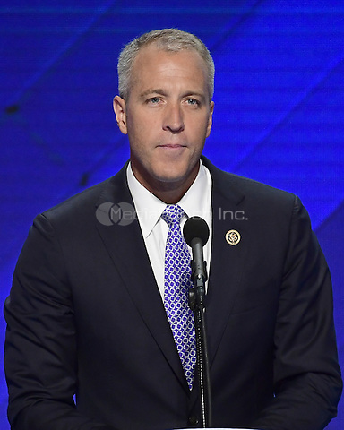 United states Representative Sean Patrick Maloney (Democrat of New York) makes remarks during the fourth session of the 2016 Democratic National Convention at the Wells Fargo Center in Philadelphia, Pennsylvania on Thursday, July 28, 2016.<br /> Credit: Ron Sachs / CNP/MediaPunch<br /> (RESTRICTION: NO New York or New Jersey Newspapers or newspapers within a 75 mile radius of New York City)
