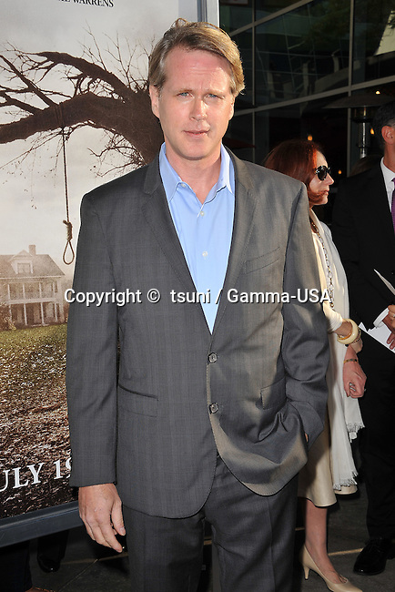 Cary Elwes  at the Conjuring Premiere at the Arclight Theatre in Los Angeles.