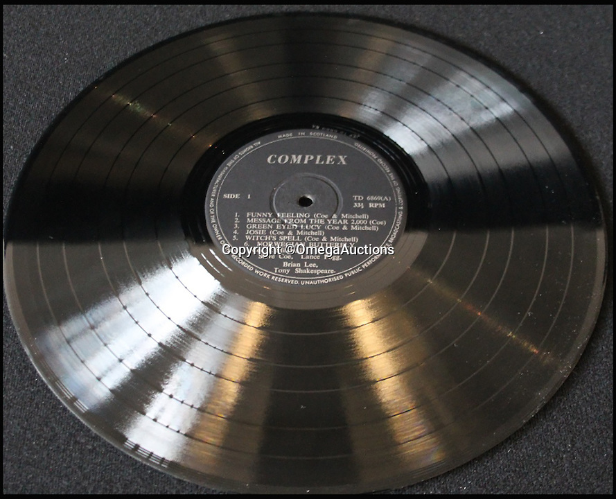 BNPS.co.uk (01202 558833)<br /> Pic: OmegaAuctions/BNPS<br /> <br /> A dad-of-two is tripping out after a rare psychedelic record he picked up for £1 at a junk shop has been valued at a staggering £10,000.<br /> <br /> The unnamed middle-aged man was drawn to the striking orange and black cover of the LP and thought it looked pretty far out. <br /> <br /> But his head was left spinning after he discovered the self-titled 1971 release by obscure British band Complex was so valuable.