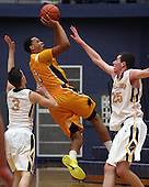 North Farmington at Clarkston, Boys Varsity Basketball, 1/17/14