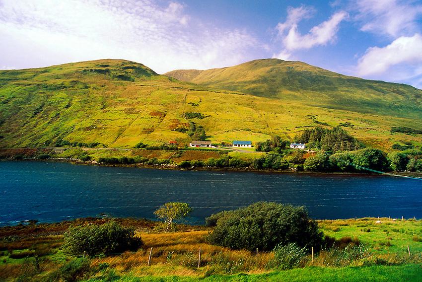 Near Leenane, Killary Harbour, Connemara, County Galway, Ireland