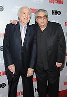 NEW YORK, NY - January 9: Jerry Adler and Vincent Pastore at HBO And Split Screens Festival The Sopranos 20th Anniversary panel discussion at the SVA Theatre in New York City on January 9, 2019. Credit: John Palmer/MediaPunch