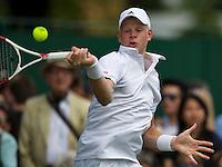 England, London, 26.06.2014. Tennis, Wimbledon, AELTC, Kyle Edmund (GBR)<br /> Photo: Tennisimages/Henk Koster
