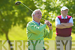 John Morris Waterville tees off the Billy O'Sullivan final in Killorglin on Saturday