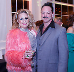 """020318MK02 (from left) Susan and Phillip Corvo  recently gathered at the Saint Mary's Hospital Foundation held its 27th Annual Gala, """"A Night at Studio 54,"""" at the Aqua Turf Club in Plantsville. Michael Kabelka Republican - American."""