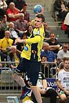 Rhein Neckar Loewe Andy Schmid (Nr.2) beim Torwurf beim Spiel in der Handball Bundesliga, Rhein Neckar Loewen - HSG Wetzlar.<br /> <br /> Foto &copy; PIX-Sportfotos *** Foto ist honorarpflichtig! *** Auf Anfrage in hoeherer Qualitaet/Aufloesung. Belegexemplar erbeten. Veroeffentlichung ausschliesslich fuer journalistisch-publizistische Zwecke. For editorial use only.