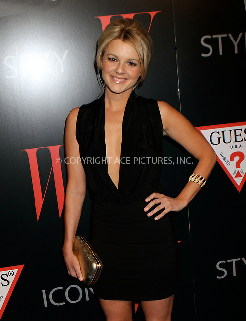 WWW.ACEPIXS.COM....January 8 2013, LA....Ali Fedotowsky at the W Magazine & Guess 30 Years of Fashion & Film Next Generation of Style Party at Laurel Hardware on January 8, 2013 in West Hollywood, California.....By Line: Nancy Rivera/ACE Pictures......ACE Pictures, Inc...tel: 646 769 0430..Email: info@acepixs.com..www.acepixs.com