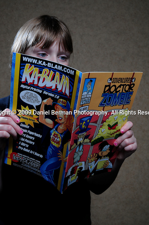 Portraits of comic enthusiasts at the first annual Bellingham ComicCon October 24, 2009 in Bellingham, WA. Photo by Daniel Berman/www.bermanphotos.com