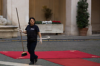 Thank You very much Lady!<br /> <br /> Rome, 03/02/2020. Today, Prince Salmān bin Ḥamad Āl Khalīfa, Deputy King, Crown Prince, first deputy prime minister of the Kingdom of Bahrain, and deputy supreme commander of the Bahrain Defense Force, visited Palazzo Chigi where he met with the Italian Prime Minister Giuseppe Conte.