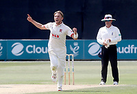 Aaron Beard of Essex celebrates taking a wicket (dropped) during Essex CCC vs Warwickshire CCC, Specsavers County Championship Division 1 Cricket at The Cloudfm County Ground on 16th July 2019