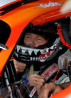 June 2, 2006; Dover, DE, USA; Nascar Nextel Cup driver Ricky Rudd (20) during practice for the Neighborhood Excellence 400 at Dover International Speedway. Rudd is replacing regular driver Tony Stewart (not pictured) who is recovering from injuries in last weeks race. Mandatory Credit: Mark J. Rebilas