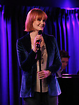 "Kate Baldwin during the Sneak Peak Presentation of the World Premiere Musical ""Superhero"" on January 16, 2019 at the Green Room 42 in New York City."