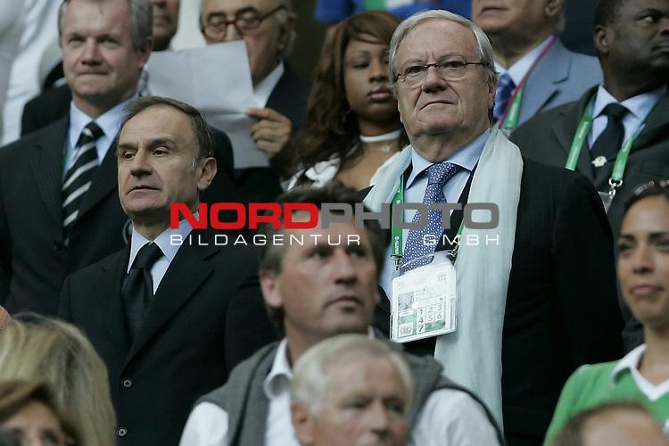 FIFA WM 2006 -  Quarter Final / Viertel Final<br /> Play    #58  (30 - Jun) - Italien - Ukraine<br /> <br /> GUIDO ROSSI-PETRUCCI <br /> <br /> <br /> Foto &copy; nordphoto