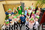 Children at Brookview Childcare in Sundays Well, Tralee wearing Kerry hats on Wednesday ahead of this weekends All Ireland final
