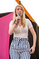 21st July 2019: Comedian Rachel Parris  plays the third day of the 2019 Latitude Festival 2019 at Henham Park, Suffolk.