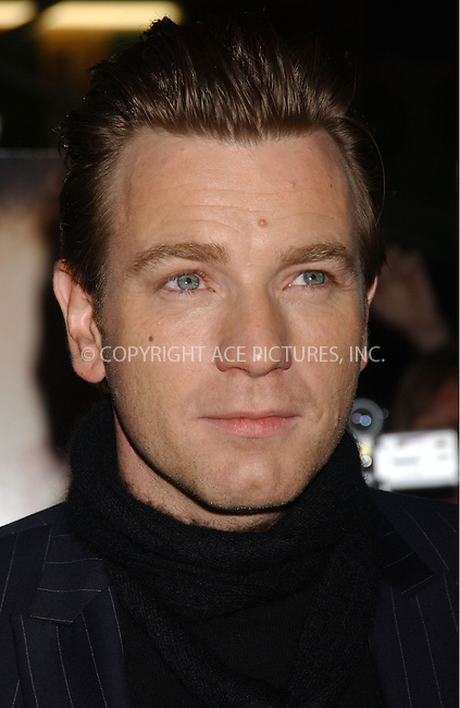 WWW.ACEPIXS.COM . . . . . ....December 10, 2006, New York City. ....Ewan McGregor attends the premiere of 'Miss Potter' sponsored by The New York Observer, L'Oreal Paris and T-Mobile at the Director's Guild of America. ....Please byline: KRISTIN CALLAHAN - ACEPIXS.COM.. . . . . . ..Ace Pictures, Inc:  ..(212) 243-8787 or (646) 769 0430..e-mail: info@acepixs.com..web: http://www.acepixs.com