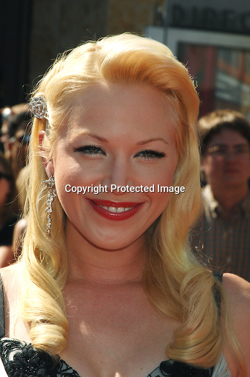 Adrienne Franz..arriving at The 34th Annual Daytime Emmy Awards on ..June 15, 2007 at The Kodak Theatre in Hollywood, California. ..Robin Platzer, Twin Images......212-935-0770