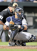 Baltimore, MD - August 31, 2009 -- New York Yankees catcher Jorge Posada (20) in action in the third inning against the Baltimore Orioles at Oriole Park at Camden Yards in Baltimore, MD on Monday, August 31, 2009..Credit: Ron Sachs / CNP.(RESTRICTION: NO New York or New Jersey Newspapers or newspapers within a 75 mile radius of New York City)
