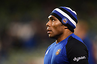 Semesa Rokoduguni of Bath Rugby looks on during the pre-match warm-up. Heineken Champions Cup match, between Leinster Rugby and Bath Rugby on December 15, 2018 at the Aviva Stadium in Dublin, Republic of Ireland. Photo by: Patrick Khachfe / Onside Images